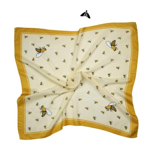 Vintage Eşarp - Arılar Gibi Hünerli