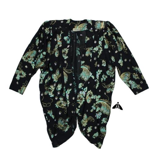 Vintage Abiye Ceket - Boşalıyor Bahçenin Zihni