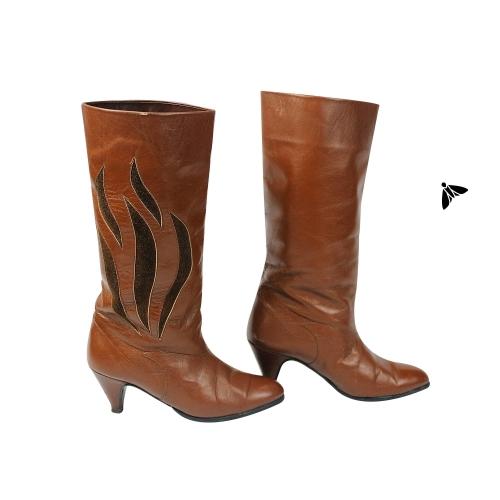 Vintage Çizme - Çıtırdata Çıtırdata