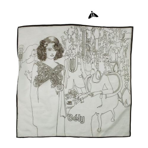 Vintage Fular - Yeniden Çizilecek Desenler