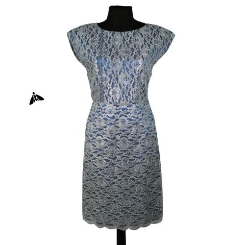 Vintage Abiye Elbise - Dantel Gibi İşledim