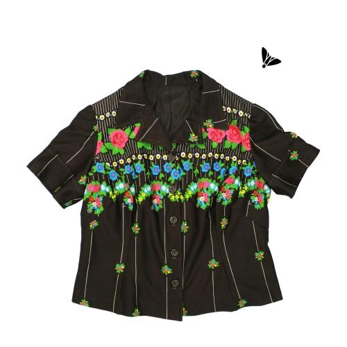 Vintage Gömlek - Yere Gül Düşer