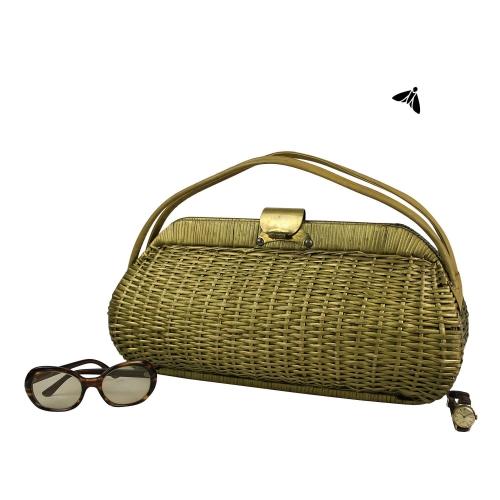 Vintage Hasır Çanta - Yıllarla Dolu Bir Kutu