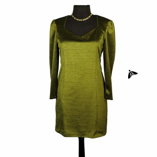 Vintage Elbise - Durgun Bir Zeytin
