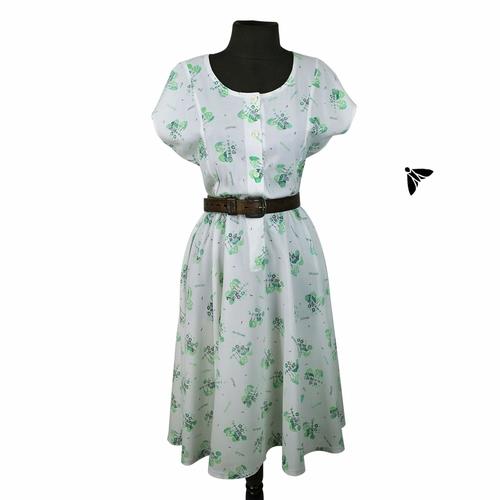 Vintage Elbise - Oysa Ev Seyircidir