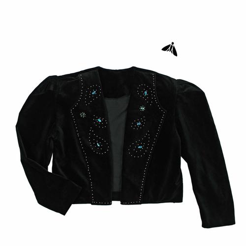 Vintage Kadife Ceket - Gözyaşı Olup Akmaya