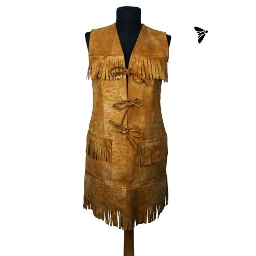 Vintage Deri Elbise - Hangi Rüzgara Takılıyorsa