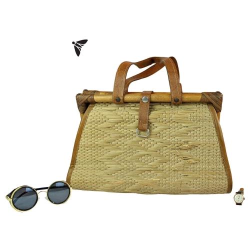 Vintage Hasır Çanta - İçimin Derinliğine