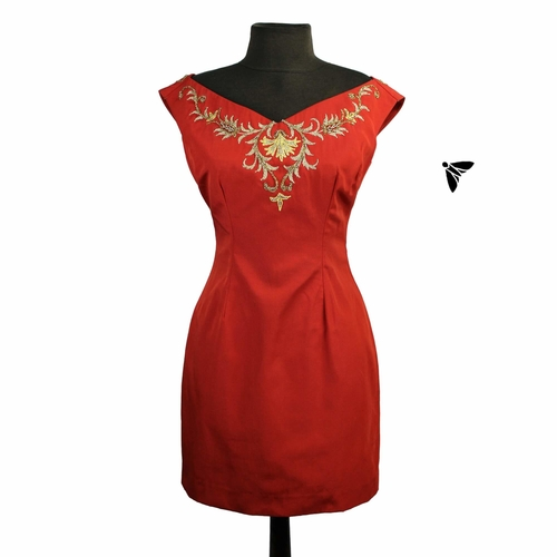 Vintage Abiye Elbise - İçinde Yanmadan Anlayamazsın
