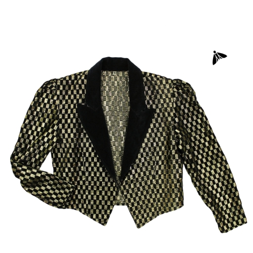Vintage Ceket - İncelikli Davranın Benim Kadar