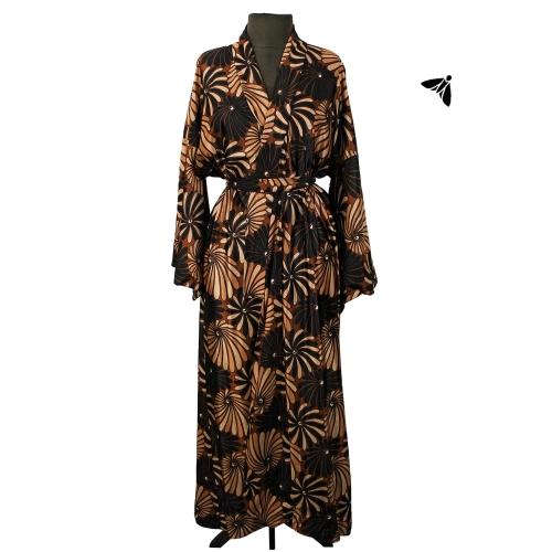 Vintage Kimono - Karışan Saatler İçinde