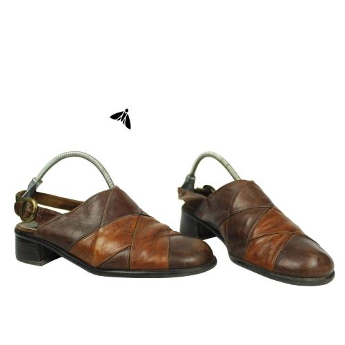 Vintage Sandalet - Kavruk Gövdem Bu