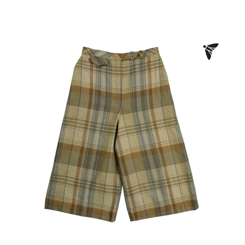 Vintage Kısa Pantolon - Kavuşmuş Bir Sarı