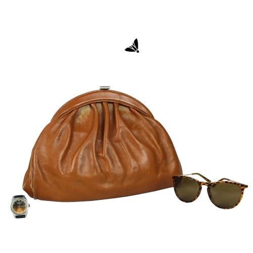 Vintage Hasır Çanta - Köklerim İçimde Gizlidir
