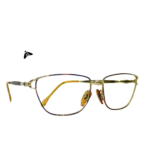 Vintage Gözlük - Kahverengi Yağan Aydınlığa