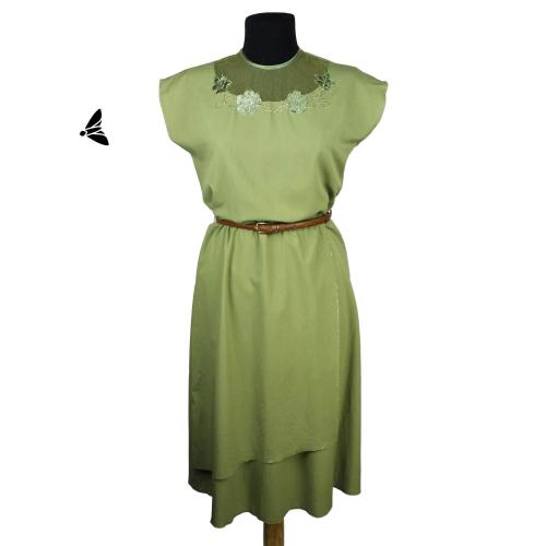 Vintage Elbise - Senin Yeşilini Buldum