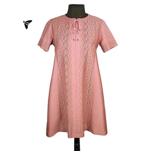 Vintage Elbise - Uzakta Güller Vardı