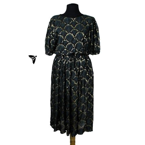 Vintage Abiye Elbise - Pul Pul Ürperişler