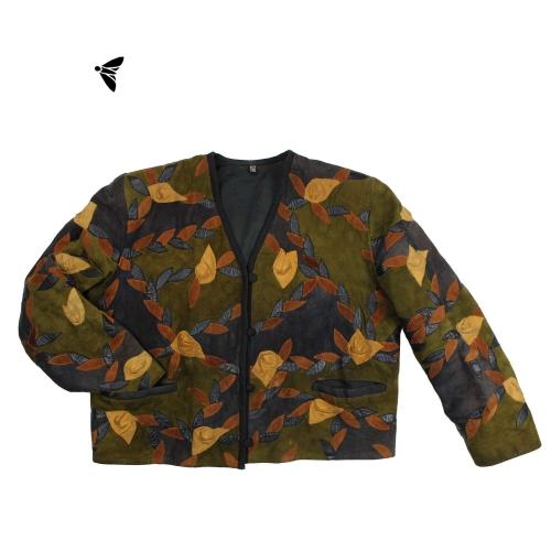 Vintage Deri Ceket - O Yaprak Hiç Düşmez