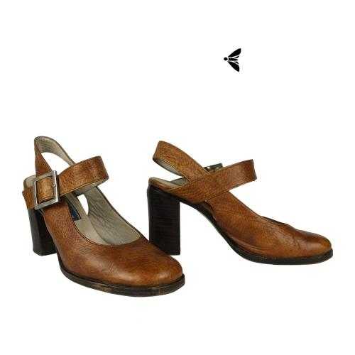 Vintage Topuklu Ayakkabı - Yollarıma Kuşlar Konmasına